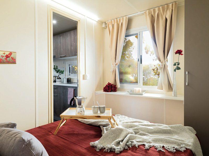 Casa mobile in vendita 24 mq - Sintesi zona notte